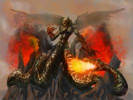 Typhon rising by Demodus