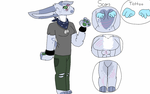 100 point anthro veteran bunny adopt (open) by Fluffy-fish-llama