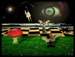 Lucy in the Sky with Diamonds by mojorison