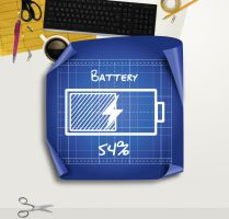 Architecture Blueprint Battery for xwidget by jimking