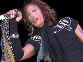 Steven Tyler of Aerosmith by aerocoyote
