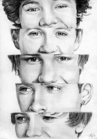 One Direction 1 by Csillipepper