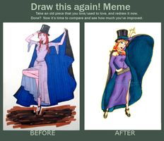 Before and After: The Magician by Neidonkorento