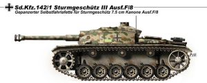 StuG III Ausf F8 by nicksikh