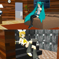 _MMD_ Room by be_Miike _DL_ by xXHIMRXx