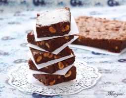 Chocolate  Brownies by Morgaer