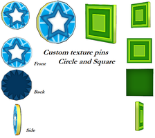 MMD- Custom Pins -DL by MMDFakewings18