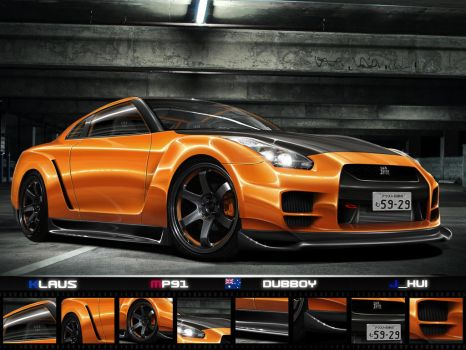 .:Team Australia WTB GT-R:. by Klaus-Designs