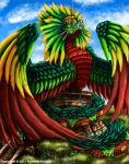 Quetzalcoatl by TheDragonofDoom