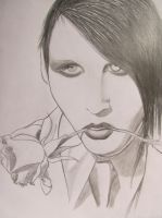 Marilyn Manson 2 by MidnyghtDew