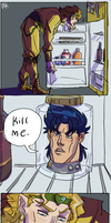 Dio's fridge by triforcebrawler
