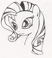 Rarity ink by MermaidSoupButtons