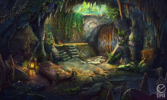Cave by Gell4