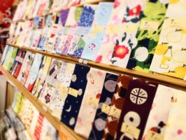 a colorful towel shop (5) by yukino-k
