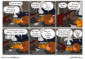 Tricking and,or Treating by JoeGPcom