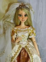 Disney Tangled Rapunzel OOAK doll by DanielMinaev