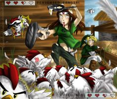 Attack of the Cucco's by GuardianOfShadows