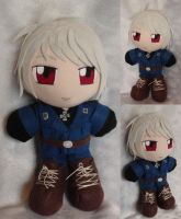 Commission, Plushie Prussia by ThePlushieLady