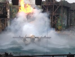 WaterWorld show by macaustar