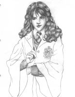 Hermione wip by Luna-June