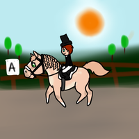 Dressage Fun Day by Experimentor-Iblis