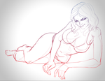 Trinquette drawing challenge WIP by DavidSerret