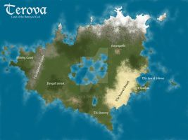 Terova - Land of the Betrayed God by keyyys
