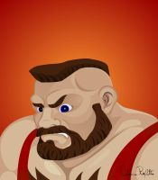 Zangief, SF II. by drifith