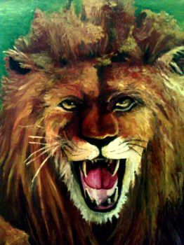 lion by BouncingMary