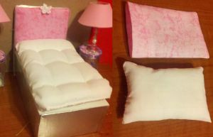 Doll bed 1 by Donttouchmykitty