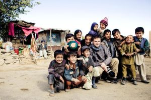 Afghanistan with local kids by demi2004