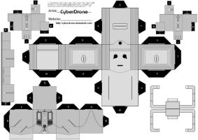 Cubee - Cyberman 'Mk4' by CyberDrone