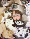 Crazy cat lady by SuperOotoro