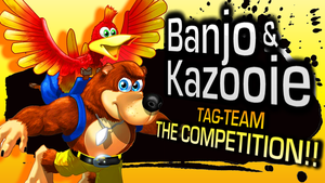 Lazy Day Showdown! Banjo and Kazooie Join Smash!! by Petenks