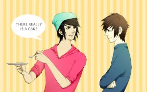 The Cake Is Real by Vylin