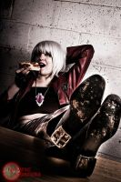 Dante Loves Pizza by Hikari-Cosplay