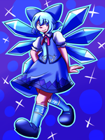 Cirno Style by Inika-Xeathis