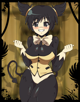 Bendy the Devil|Anime FNIA style| BATIM by Mairusu-Paua