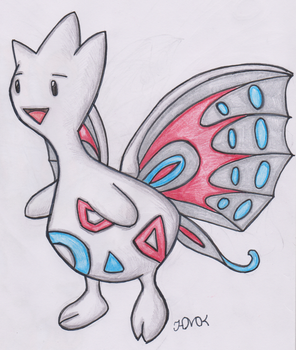 Old Pokemon, New Type 8: Togetic by Shabou