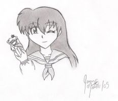 Kagome, the Powerful One by kuro-tenshi12