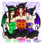 _ Dremora Witch Party _ by Cathrie-Crash