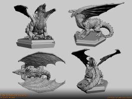 3d Model: Dragon 05 by Edizu