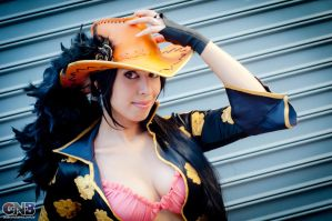 Nico Robin Film Z Cosplay 3 by As-Naye
