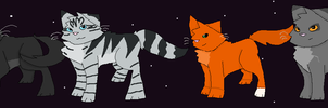Warriors New Prophecy by RockpeltThunderClan