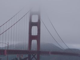 golden gate bridge by bloody-magpies