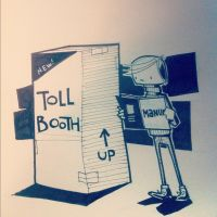 Milo's tollbooth by jgurley