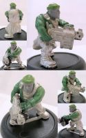"Squat Survivor or ""space dwarf"" no.2 by maxxev"