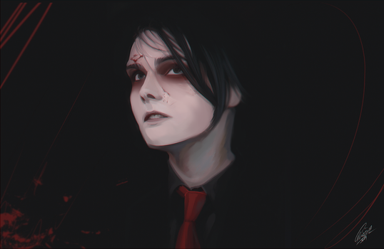 Gerard Way by Orfartina