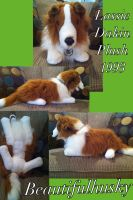Lassie Dakin Plush 1993 by BeautifulHusky