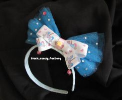 Lovely carousel hairband by gothic-yuna